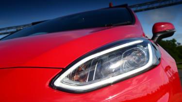 Ford Fiesta ST-Line headlight