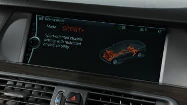 BMW 520d SE sat-nav