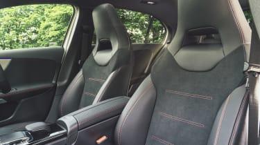 Mercedes A-Class front seats