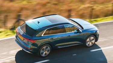 Audi e-tron - above