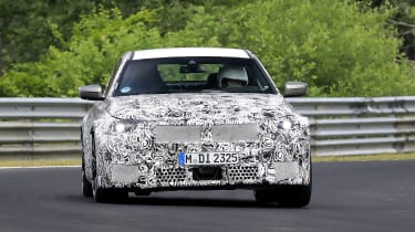 BMW M2 spy shot - front