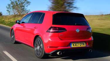 Volkswagen Golf GTI Performance Pack - rear tracking