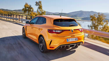 Renault Megane R.S. - rear action
