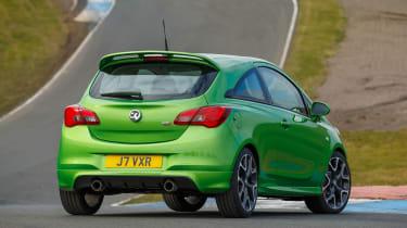 Vauxhall Corsa VXR - rear