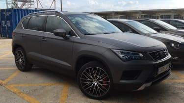 SEAT Ateca Cupra - prototype front