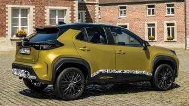 Toyota Yaris Cross prototype - rear static