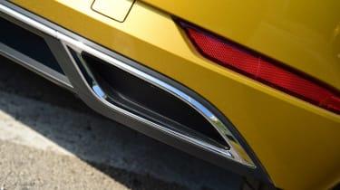 Volkswagen Golf 2017 facelift 1.5 TSI EVO - exhaust