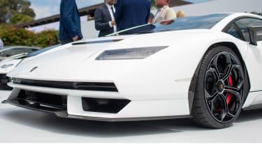 Lamborghini Countach - show front detail
