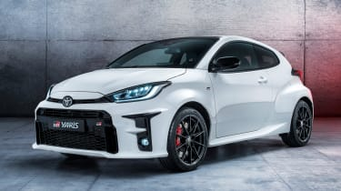 Toyota will be expecting much praise for this inspired hot hatch developed by the team responsible for the manufacturer's World Rally Championship cars. With a three-door body, a bespoke suspension set-up, clever four-wheel-drive system and a 257bhp 1.6-l