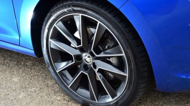 Skoda Rapid Spaceback - wheel