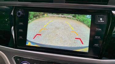 SsangYong Korando long termer - second report reversing camera