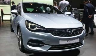 Vauxhall Astra - Frankfurt front
