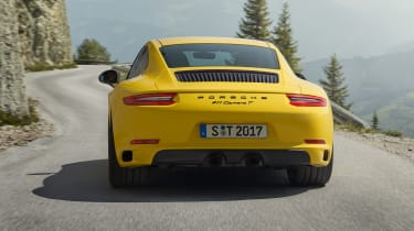 Porsche 911 Carrera T - full rear