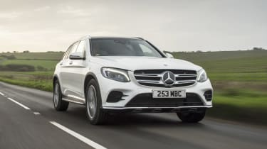 Mercedes GLC 250 - front tracking