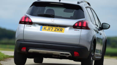 Peugeot 2008 - tail-gate