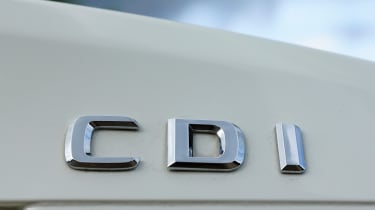 Mercedes SLK 250 CDI badge