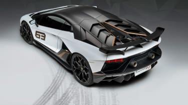 Lamborghini Aventador SVJ 63 - rear static
