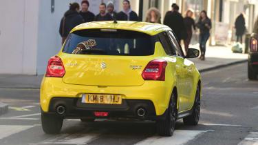 Suzuki Swift Sport - final report rear