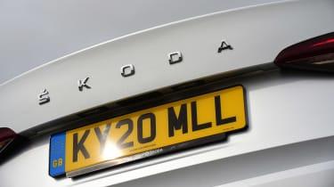Skoda Octavia - rear badge