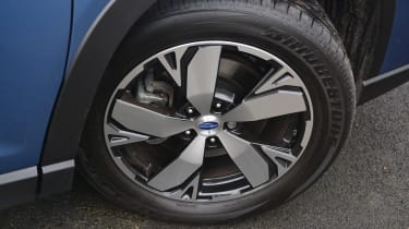 Subaru Forester 2020 in-depth review - wheel