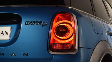 New MINI Countryman - rear light detail