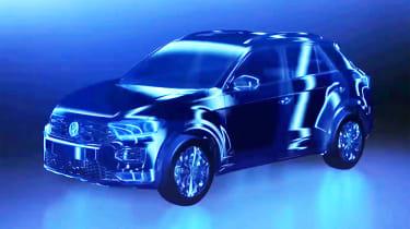 Volkswagen T-Roc teaser Geneva 2017