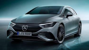 Mercedes EQE - front studio