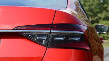 Skoda Superb - rear light