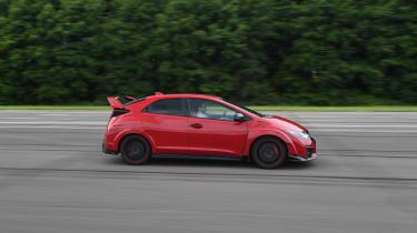 Honda Civic Type R long term - side
