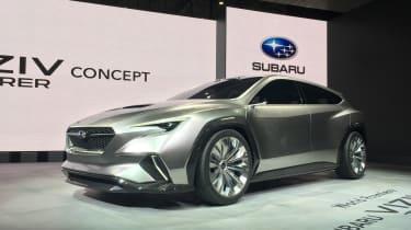 Subaru Viziv Tourer concept - show front