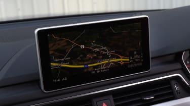 Audi A5 - sat-nav