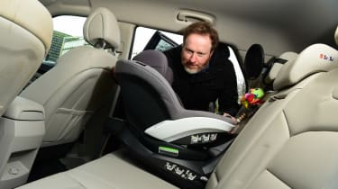 SsangYong Korando long termer - final report car seat