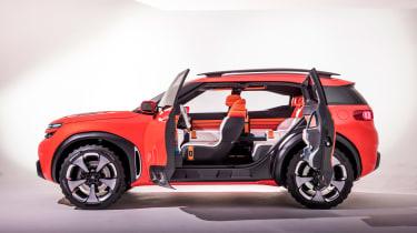 Citroen Aircross concept - side doors open