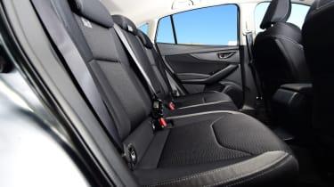 Subaru Impreza - back seats