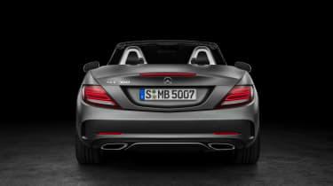 zMercedes SLC roadster - rear