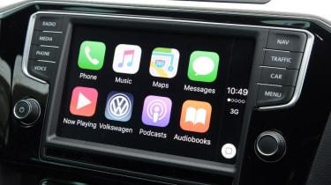 Volkswagen Passat GTE - Apple CarPlay