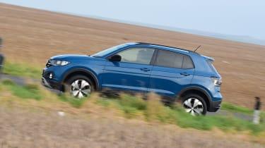 Volkswagen T-Cross - side shot