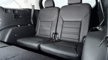 Kia Sorento - rear seats