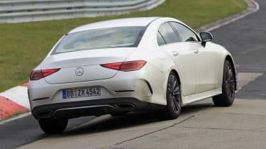 Mercedes CLS - spyshot 9
