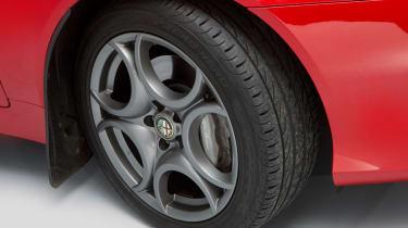 Alfa Romeo Spider alloy wheel