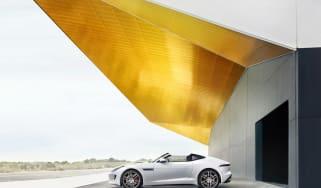 Jaguar F-Type Targa mockup