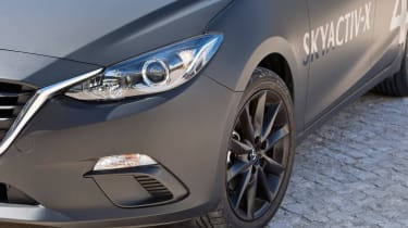 Mazda 3 Skyactiv-X prototype - headlight