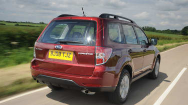 Forester rear