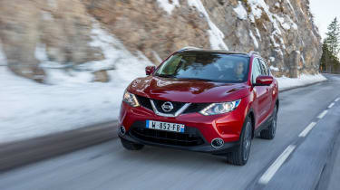 Nissan Qashqai 2014 1.6 dCi front tracking