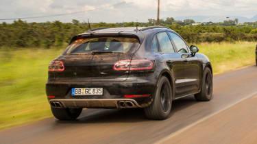 New Porsche Macan 2018 prototype review rear end