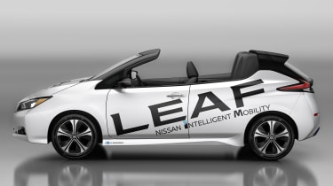 Nissan Leaf Open Air - side