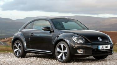 The 'New' Beetle arrived a few years before BMW's remake of the MINI targeting the same kind of fashionable small car buyers, but would ultimately come off second best. The 1998 model based on the Mk4 Golf was updated by a better mk2 version in 2011.
