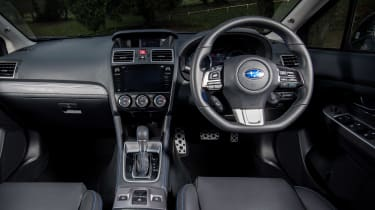 Subaru Levorg - dash
