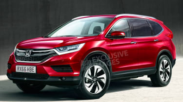 New Honda CR-V - exclusive image - front