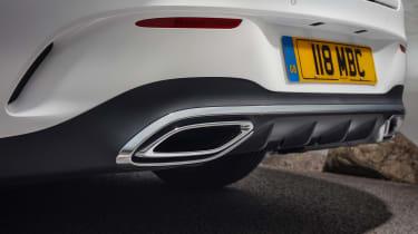 Mercedes CLA 250 AMG Line - exhaust